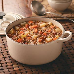 Favorite Hamburger Stew Recipe