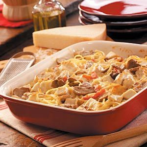 2-for-1 Chicken Tetrazzini Recipe