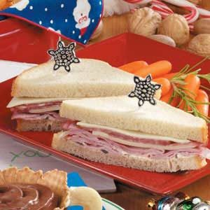 Ho-Ho-Ho Sandwiches Recipe