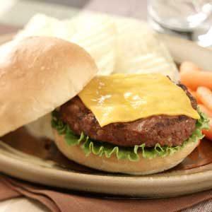 Deluxe Cheeseburgers Recipe