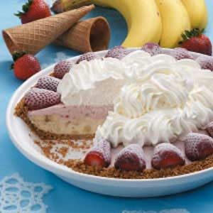 Strawberry Banana Pie Recipe