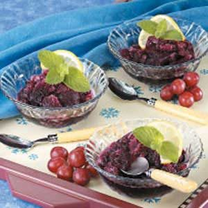 Grape Ice Recipe