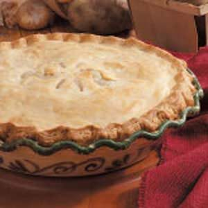Double-Crust Potato Pie Recipe