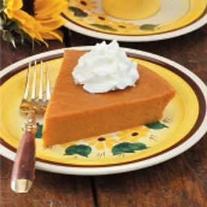 No-Crust Pumpkin Pie