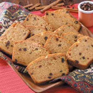 Raisin Sweet Potato Bread Recipe