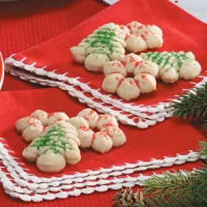 Spice Spritz Cookies Recipe