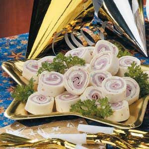 Ranch Ham Roll-Ups Recipe