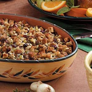 Cranberry Hazelnut Dressing