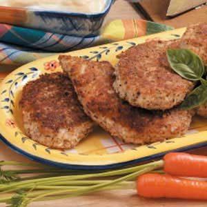 Pecan Parmesan Chicken Recipe