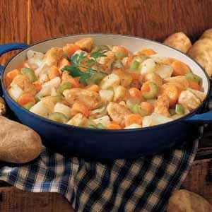Skillet Chicken Stew Recipe
