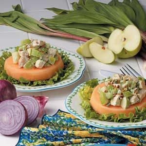 Cantaloupe Chicken Salad Recipe