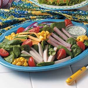 Chef's Spinach Salad Recipe
