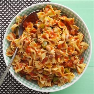 Black-Eyed Peas 'n' Pasta Recipe