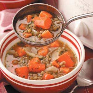 Sweet Potato Lentil Stew Recipe
