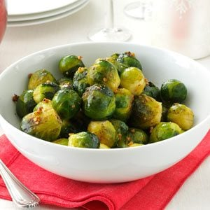 Garlic Brussels Sprouts