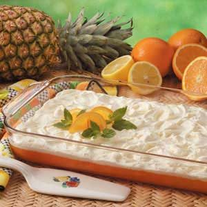 Tart Orange Gelatin Salad Recipe