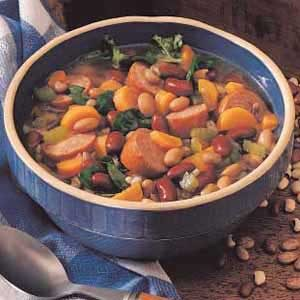 Sausage Bean Stew Recipe