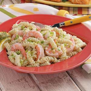 Rotini with Shrimp Recipe
