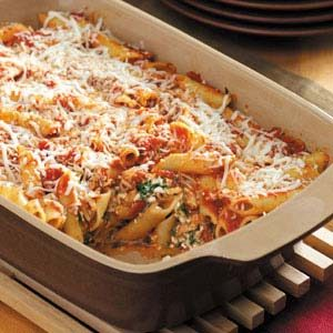 Mostaccioli Bake Recipe