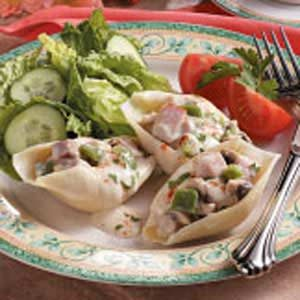 Ham-Stuffed Jumbo Shells