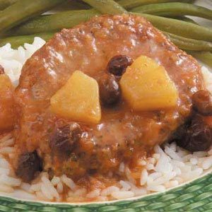 Fruited Pork Chops Recipe