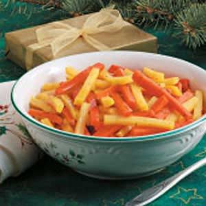 Lemon-Glazed Carrots and Rutabaga Recipe