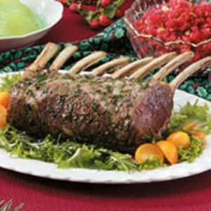 Herbed Rack of Lamb Recipe