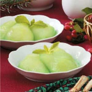 Minted Pears Recipe