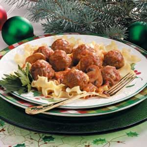 Meatballs with Vegetable Sauce Recipe