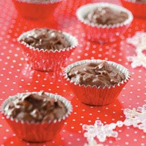 Crunchy Chocolate Cups Recipe