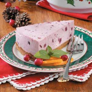 Chilled Cranberry Cheesecake Recipe