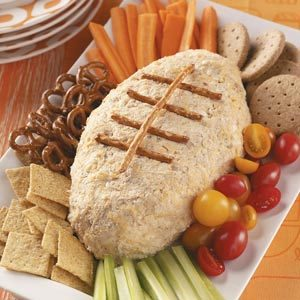 Crab Football Spread Recipe