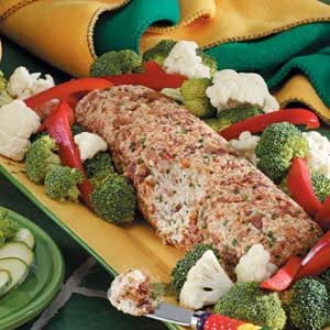 Smoky Sesame Cheese Log Recipe