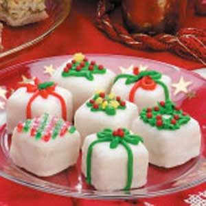 Christmas Petits Fours Recipe