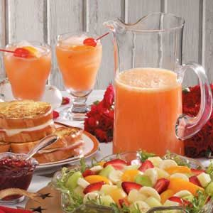 Orange Juice Spritzer Recipe