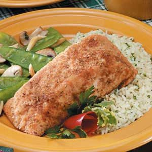 Crumb-Coated Salmon Recipe