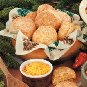 Chili Cheddar Biscuits Recipe