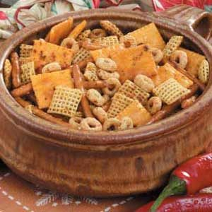Zesty Party Snack Mix Recipe