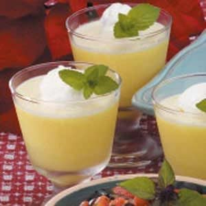Lemon Pudding Cups Recipe