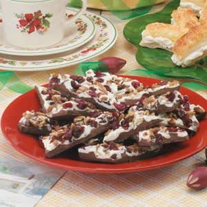 Pecan Cherry Bark Recipe