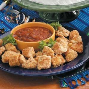 Nuggets with Chili Sauce Recipe