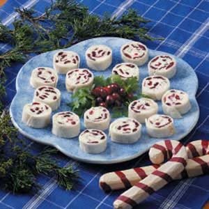 Cranberry Feta Pinwheels Recipe