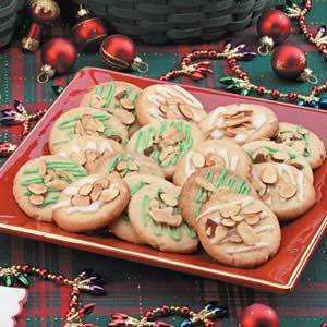 Almond Sugar Cookies Recipe