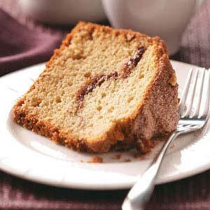 Streusel Nut Coffee Cake Recipe