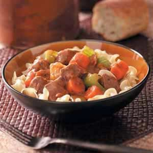 Venison Vegetable Stew Recipe