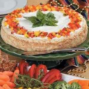 Savory Herb Cheesecake