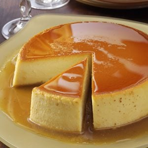 Creamy Caramel Flan Recipe photo by Taste of Home
