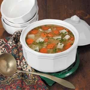 Orzo Chicken Soup Recipe