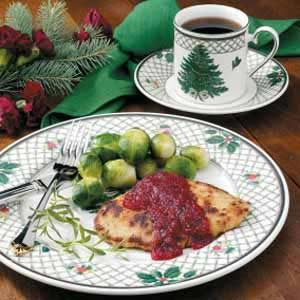 Cranberry-Orange Turkey Cutlets Recipe