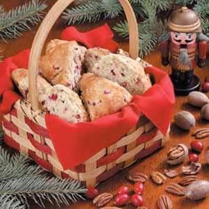 Cranberry Pecan Scones Recipe